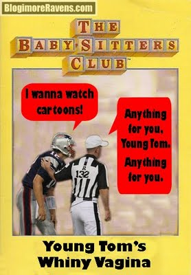 Tom Brady complains to officials.