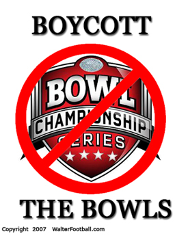 Boycott the Bowls Initiative - Force NCAA Football to have Playoffs