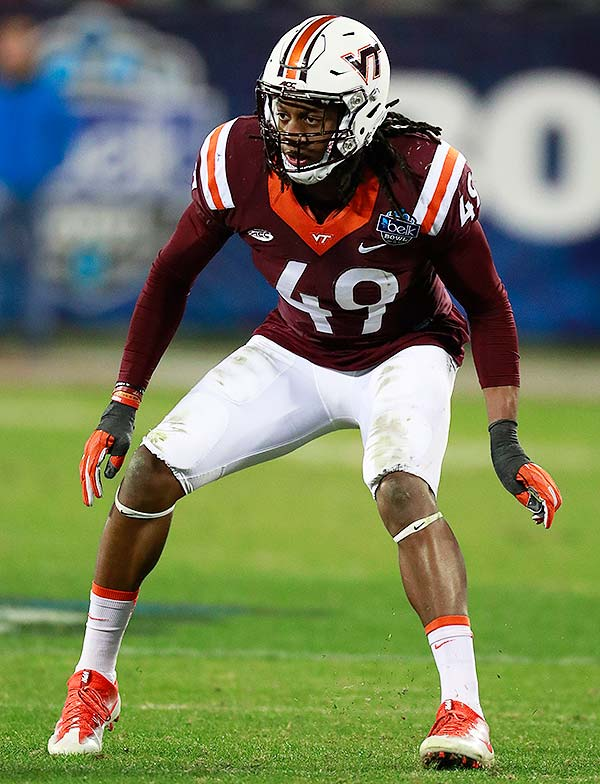 WalterFootball.com  2018 NFL Draft Scouting Report  Tremaine Edmunds 18d991395